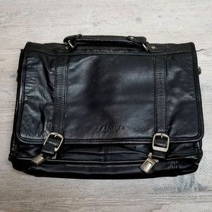 Kenneth Cole Leather Laptop Bag Briefcase. Perfect